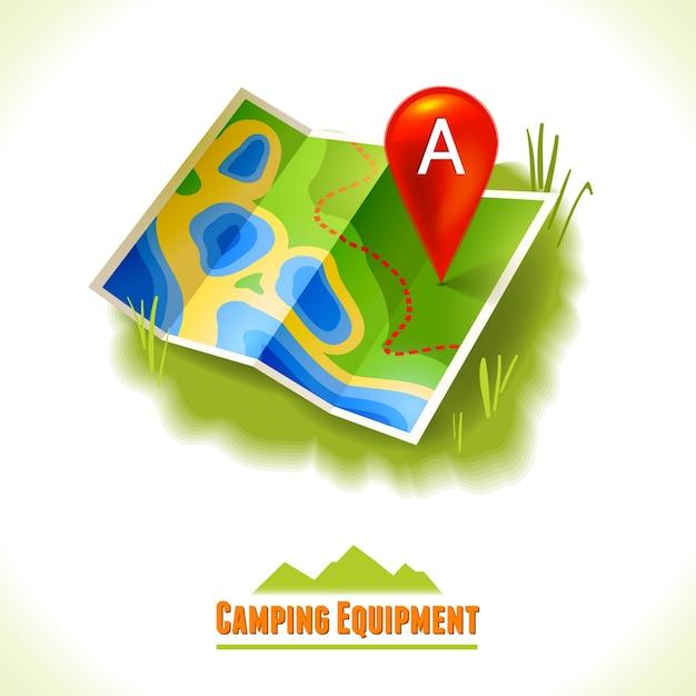 Map background design