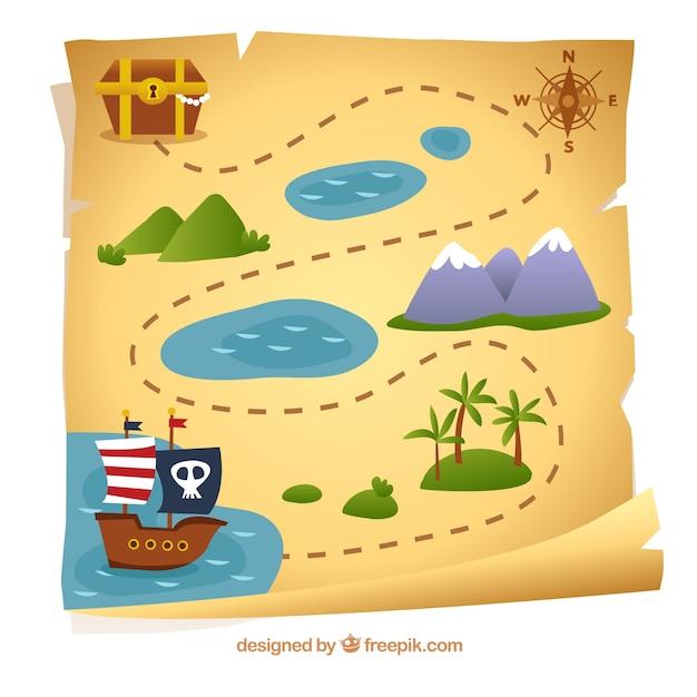 карта пирата играть онлайн бесплатно