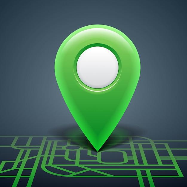 Map pointer Premium Vector