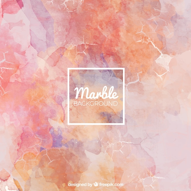 Marble background in red tones Free Vector