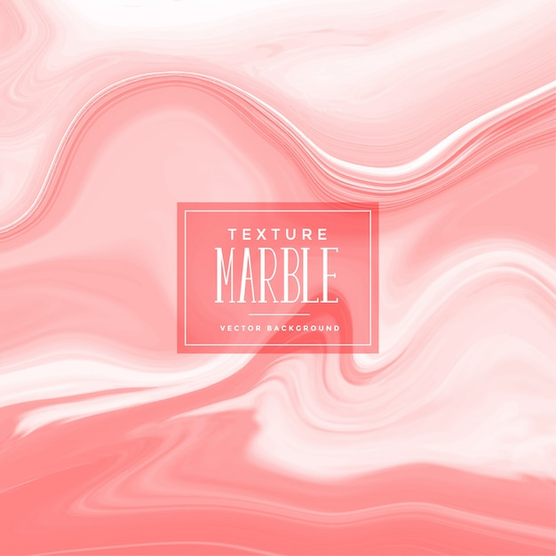 Marble pattern in red pastel shade Free Vector
