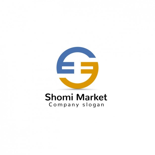 market logo template vector free download