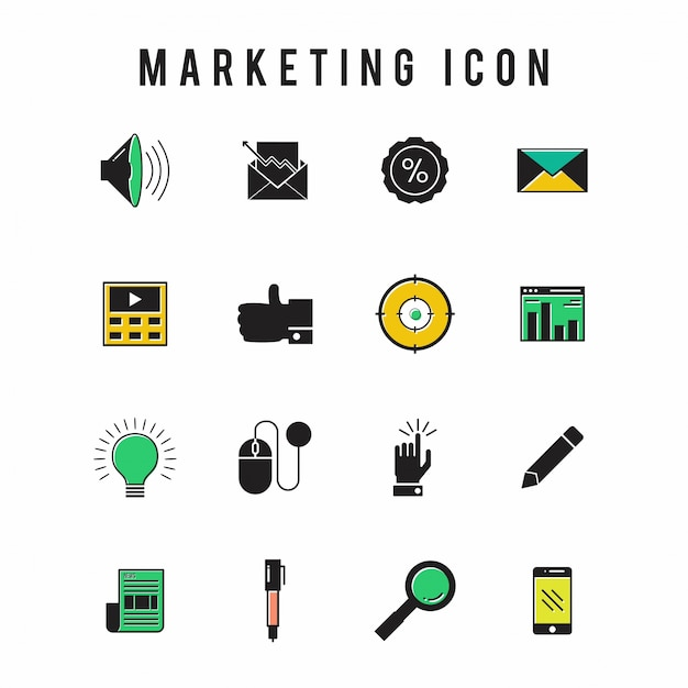 Marketing icon Vector | Free Download
