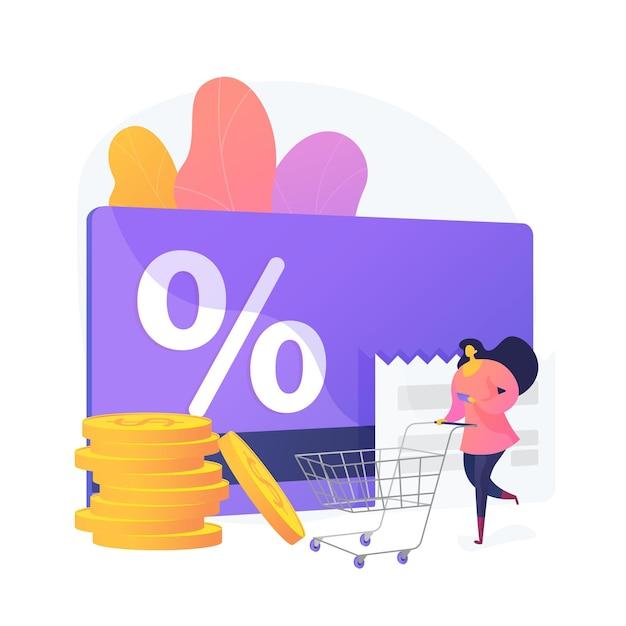 마케팅 전략 만화 웹 아이콘입니다. 로열티 비즈니스 모델, 쇼핑 할인 제공, 고객 보상. 상점 가상 화폐, 포인트 교환. 벡터 격리 된 개념은 유 그림 무료 벡터