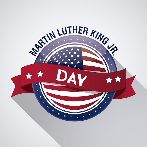 Martin luther king jr day icon Vector | Premium Download