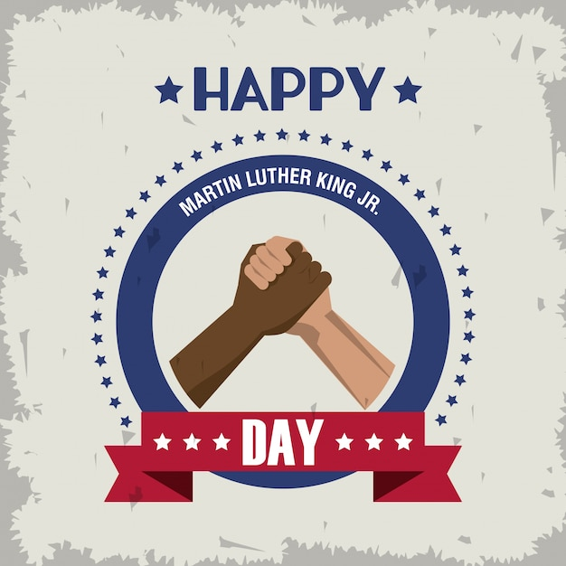 Martin luther king jr day icon | Premium Vector
