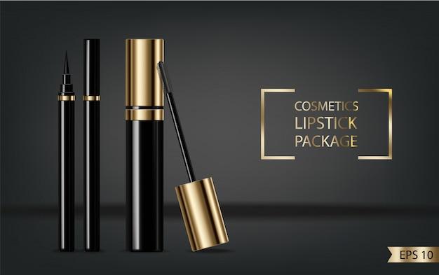 Mascara realistic Premium Vector