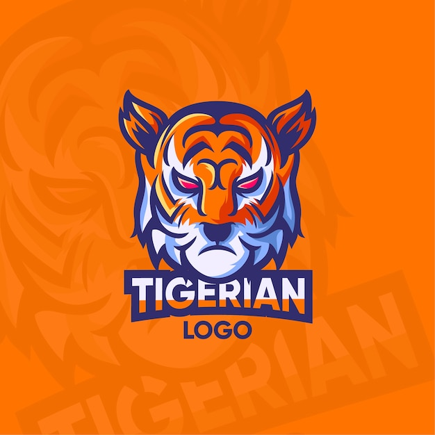 Mascot logo concept illustration Free Vector