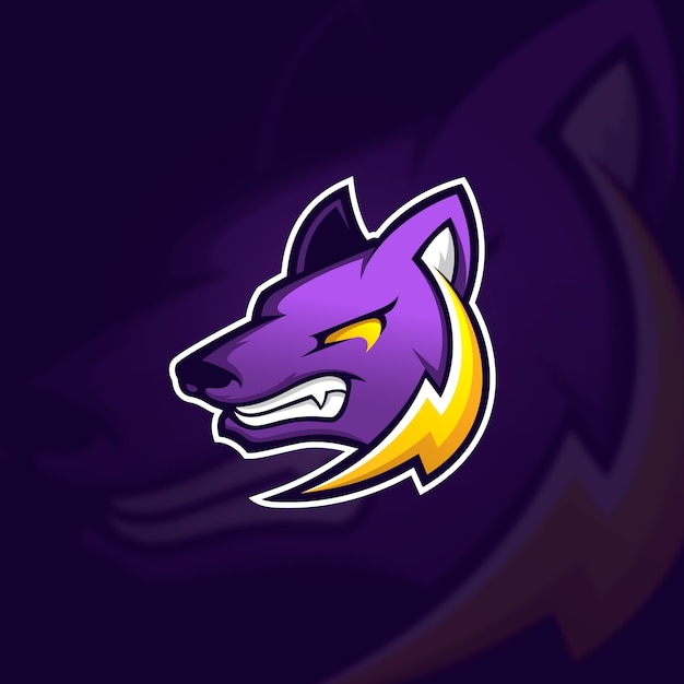 Mascot logo concept Free Vector