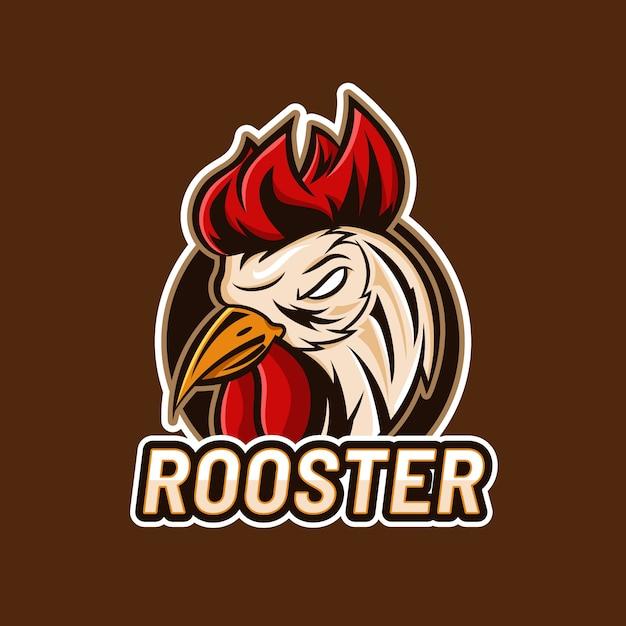 Mascot logo design concept Premium Vector