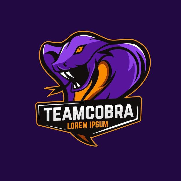 Mascot logo template Free Vector