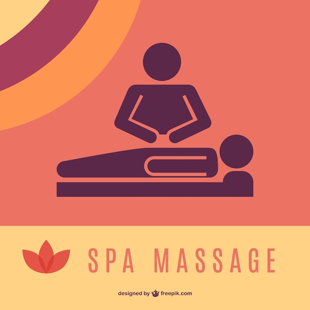Massage logo graphics