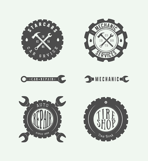 Get Automotive Technician Logo Background