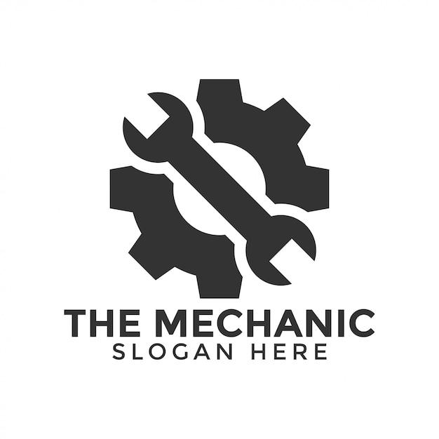 Mechanic tools icon Premium Vector