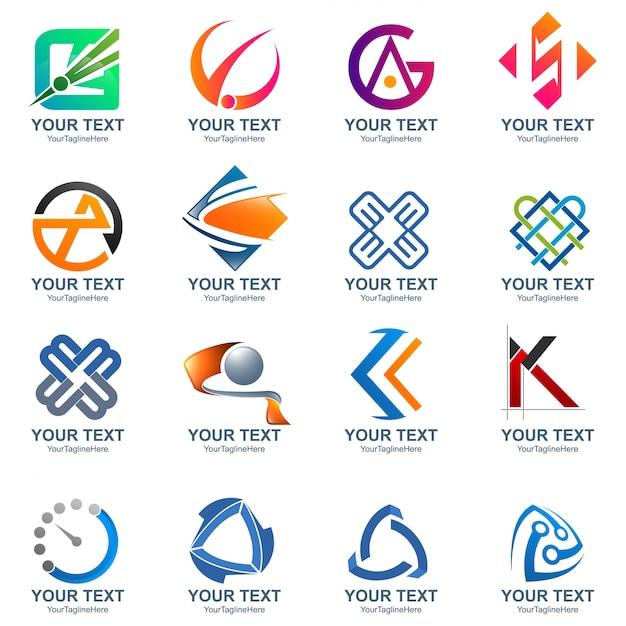 Media and creative idea logo design template Vector   Premium Download