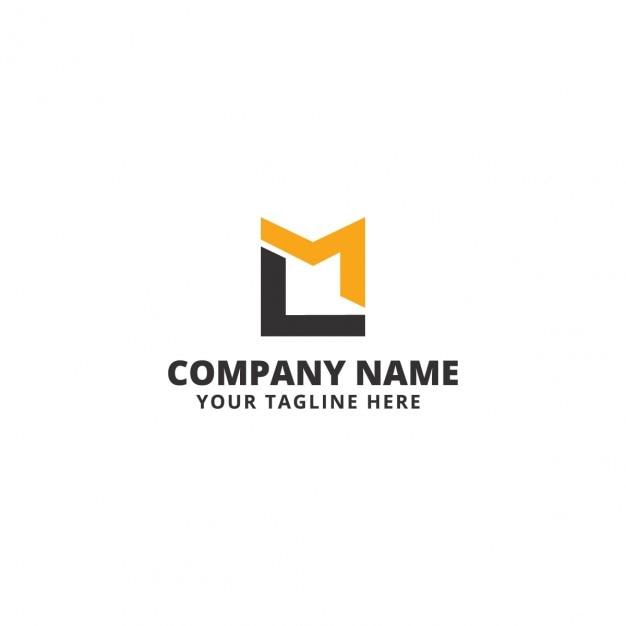media box logo template vector free download
