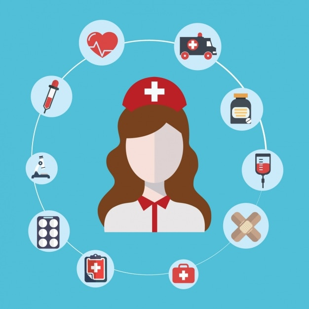 medical and health icons vector free download