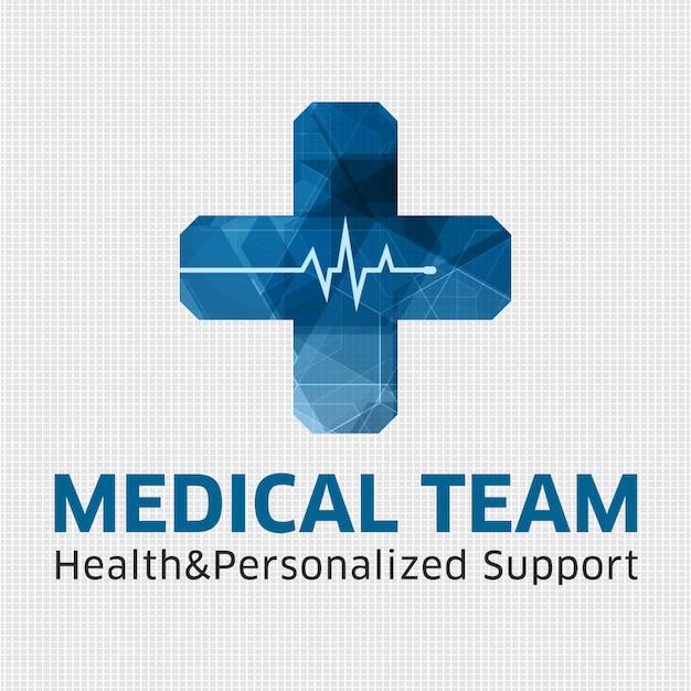 medical background design vector free download