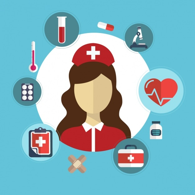 medical background design vector free download
