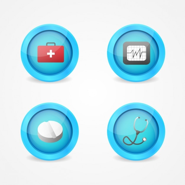 Medical buttons design