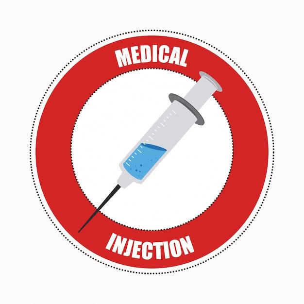 Medical design illustration Free Vector
