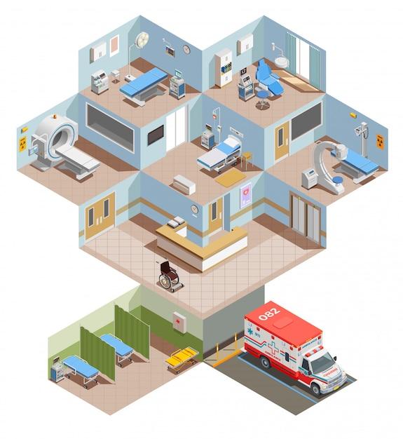 Medical equipment illustration Free Vector