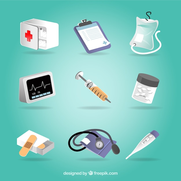 Medical equipment Free Vector