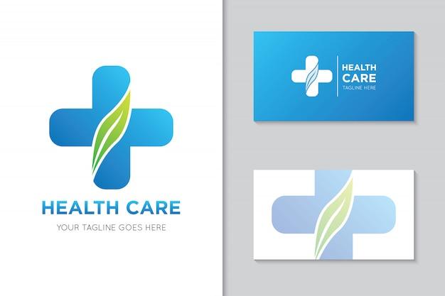 Medical health care logo and icon illustration Premium Vector