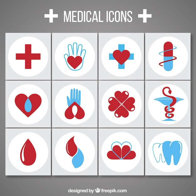 Medical icon collection