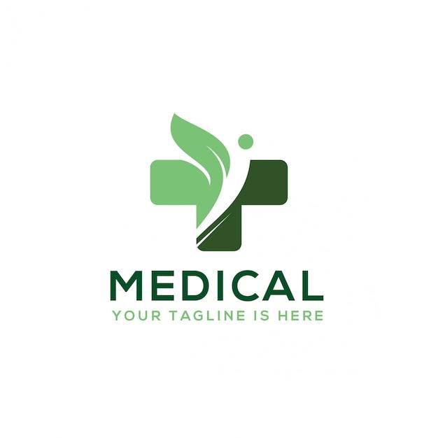 Medical lab logo Premium Vector