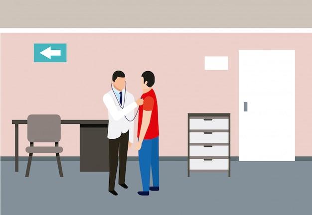 Medical people health Free Vector