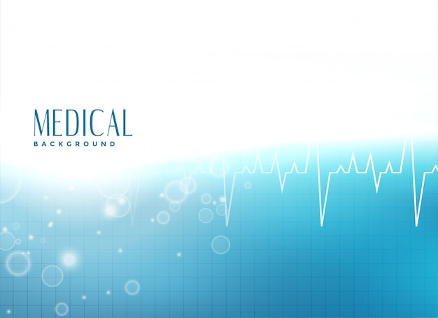Medical presentation background Free Vector