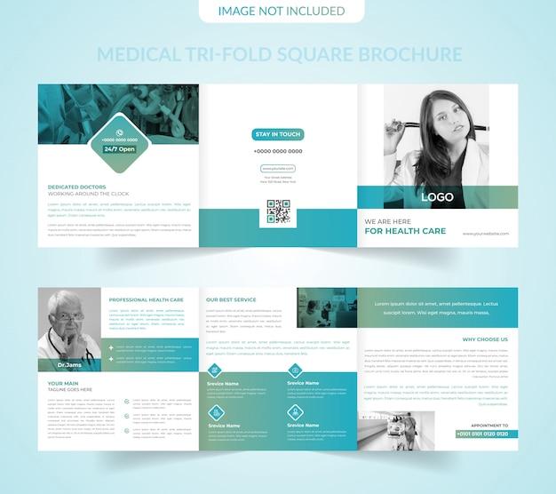 Healthcare Clinic Tri-Fold Brochure Template in PSD, Ai ... |Medical Tri Fold Brochure Template