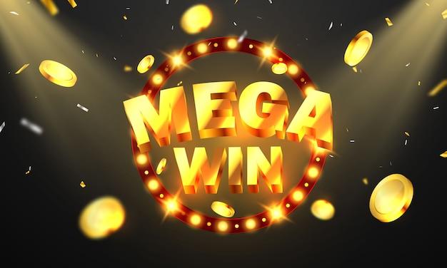 Mega Win Images Free Vectors Stock Photos Psd