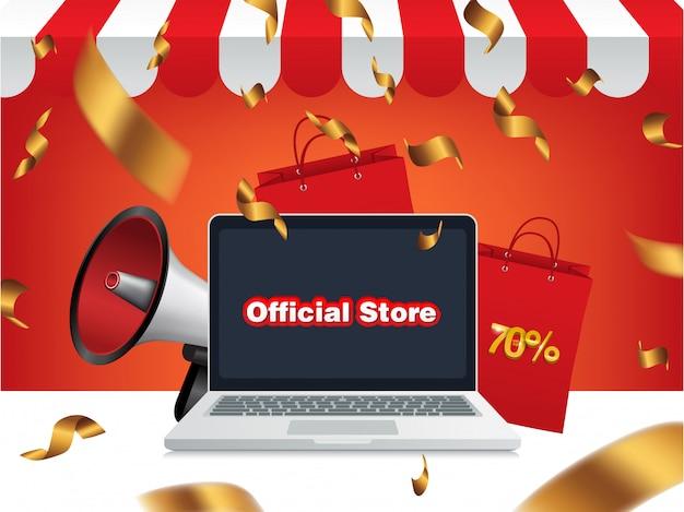 メガホン販売、公式店オンラインショップ Premiumベクター
