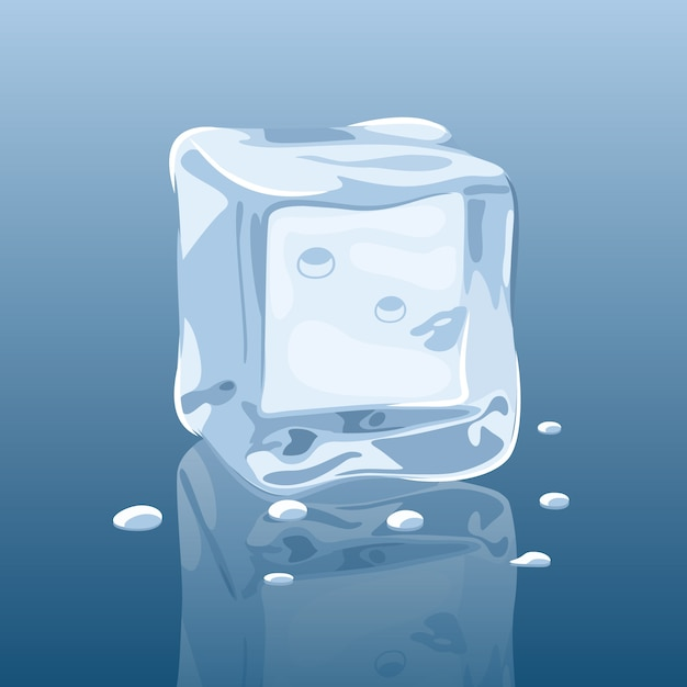 free vector melting ice cube vector free vector melting ice cube vector