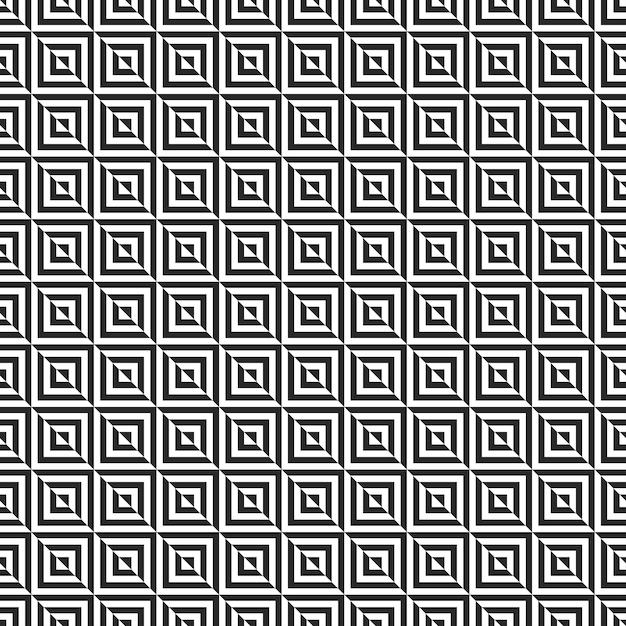 Memphis seamless patterns. Premium Vector