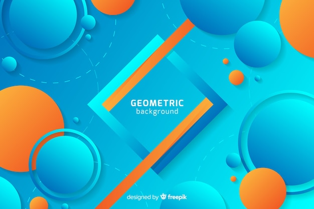 Memphis style abstract backgrond Free Vector