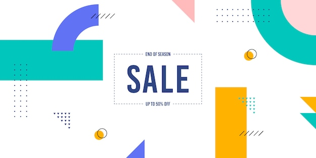 Mempis sale background Premium Vector
