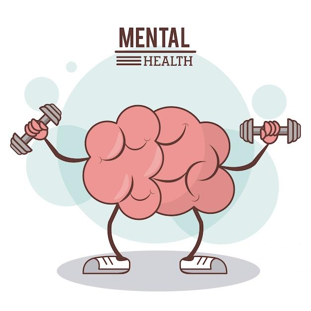 Mental health concept Premium Vector