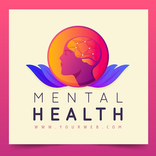 Mental Health Logo Template