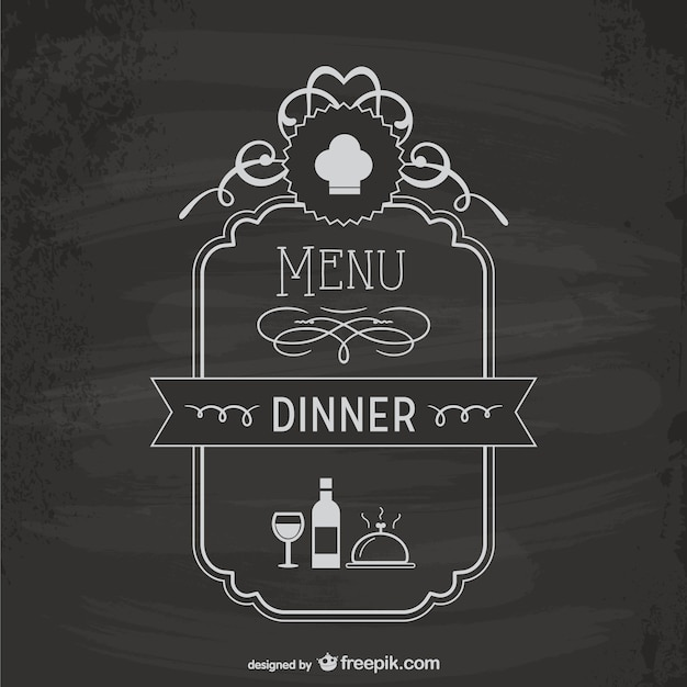 Menu board template Vector | Free Download
