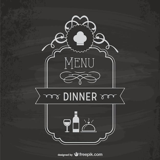 free menu borders templates