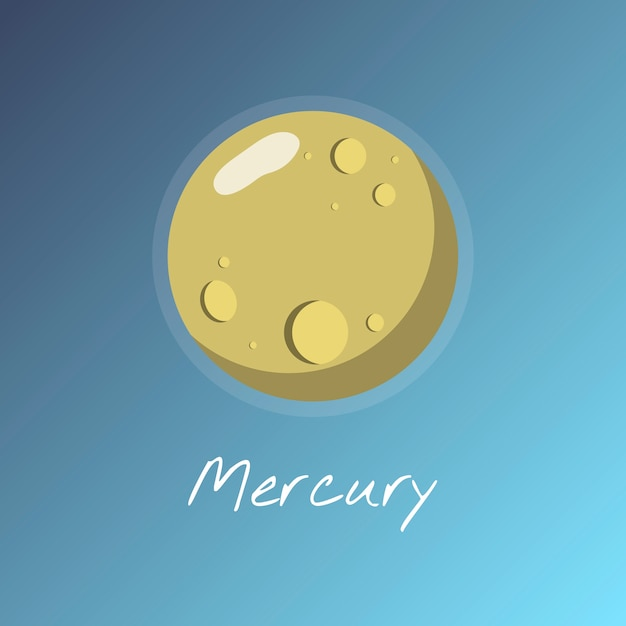 Mercury Free Vector