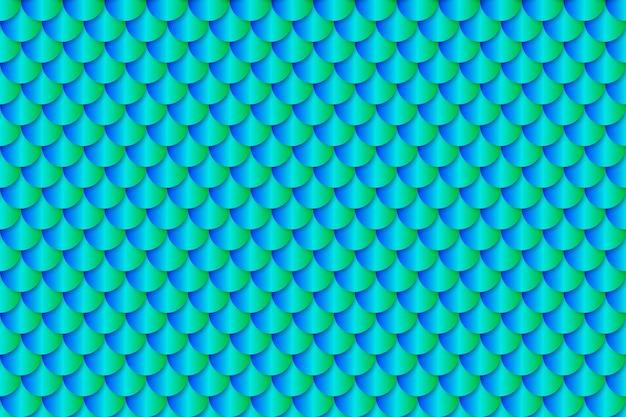 Mermaid tail foil texture effect seamless pattern Premium Vector