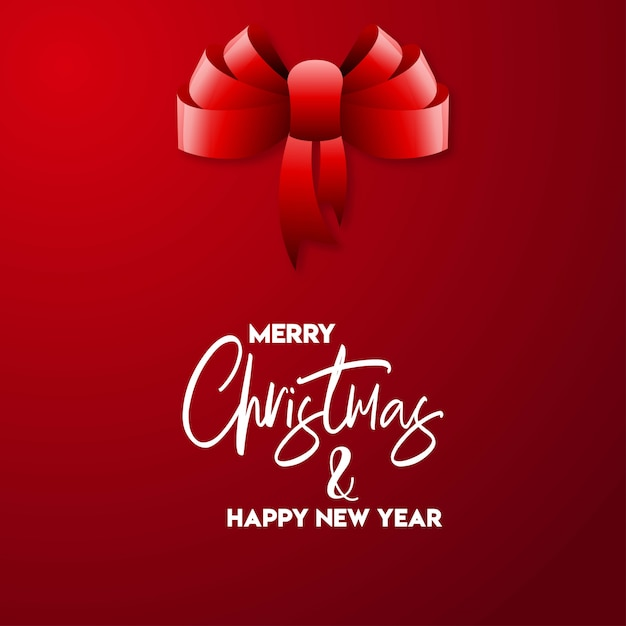 Merry christmas 2019 background Free Vector
