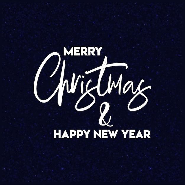 Merry christmas 2019 background Premium Vector