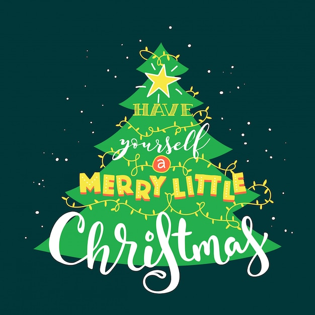 2020 Merry Christmas Images Premium Vector | Merry christmas 2020 card.