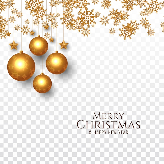 Merry christmas decorative festive background Free Vector
