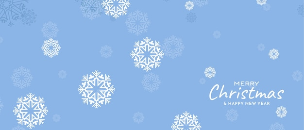 メリークリスマスフェスティバルの雪片の柔らかい色 無料ベクター